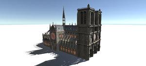 3D european buildings