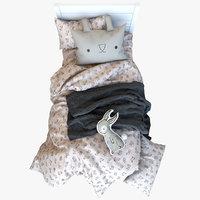 Kids Bunny Bed