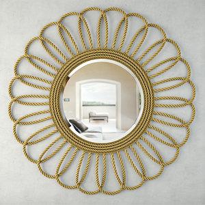 3D ashley wall mirror