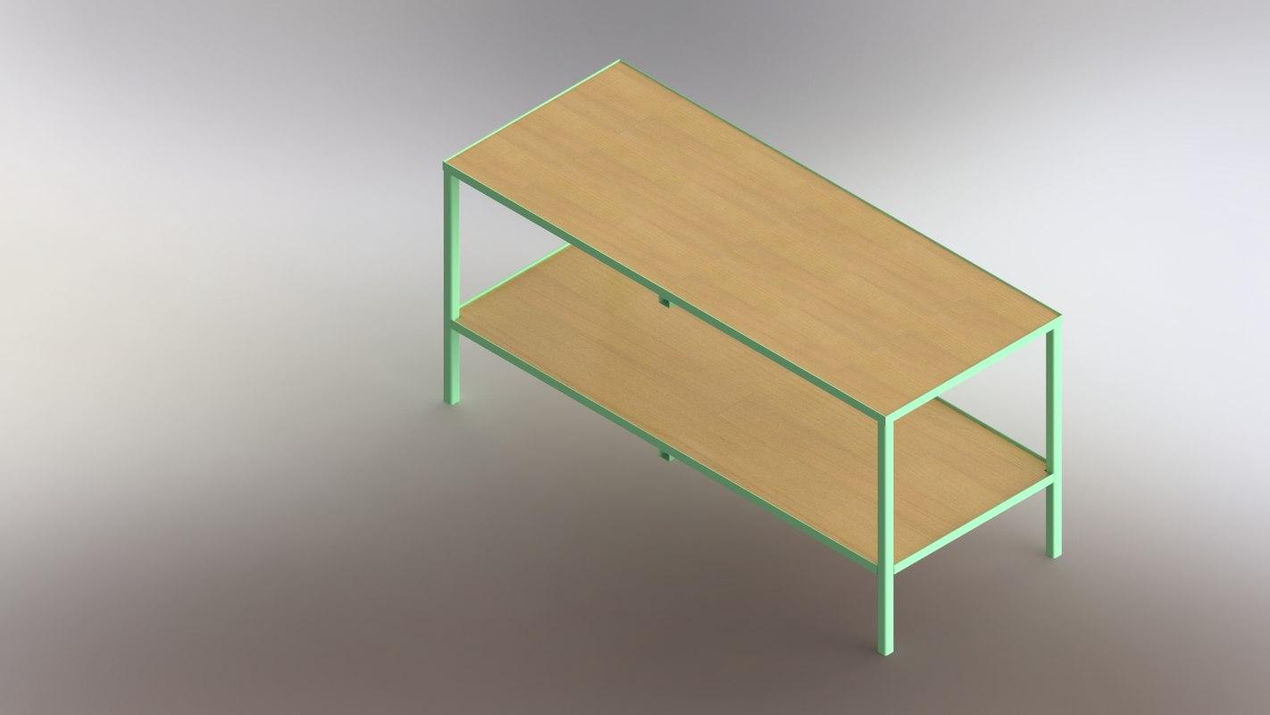 modelled metal decor 3D model