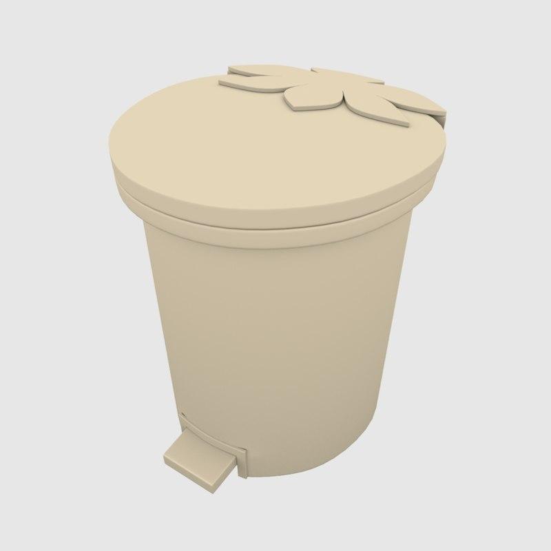 bin recycle 3D model