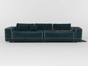 classical velvet sofa fendi model