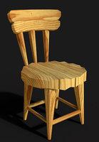 Cartoony chair