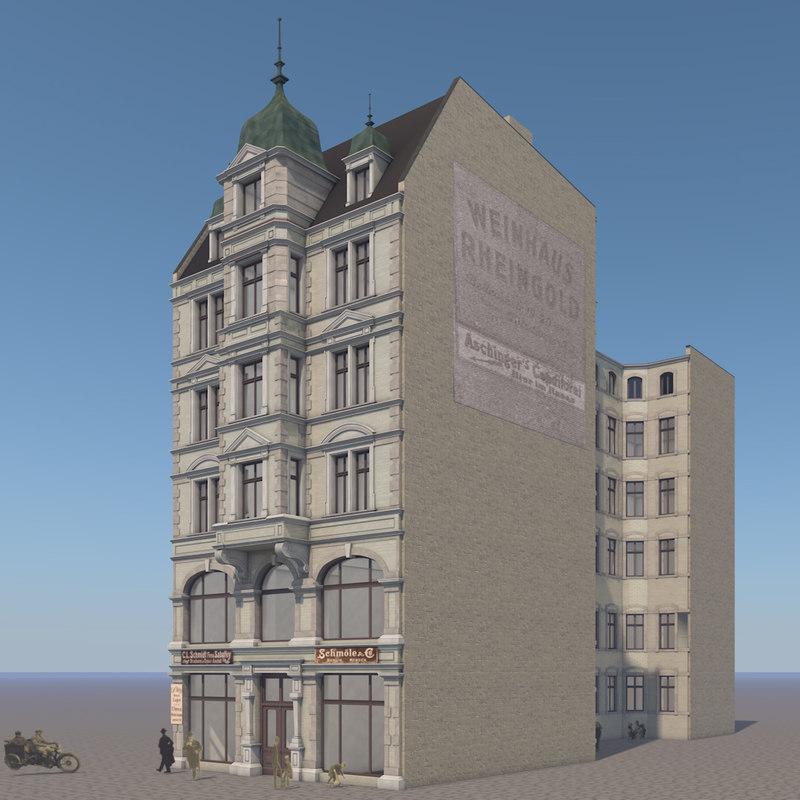 building strasse 26 berlin 3D model
