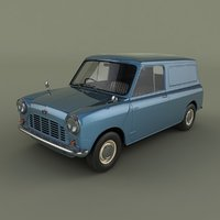 3D morris mini van model