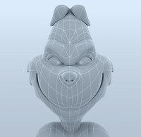 grinch 3d model