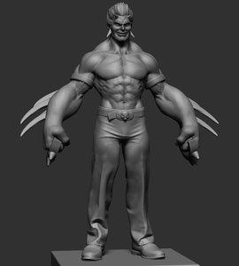 3D reference ztl zbrush model