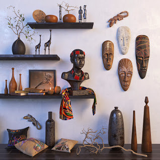 3D africa model