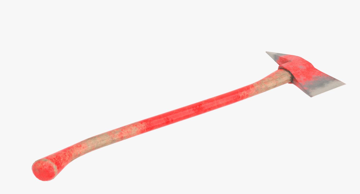 3D axe old