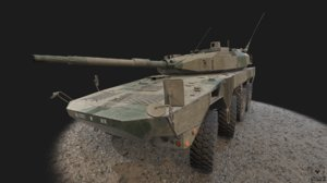 3D maneuver combat vehicle tank