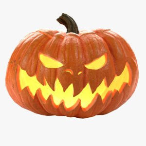 halloween pumpkin model