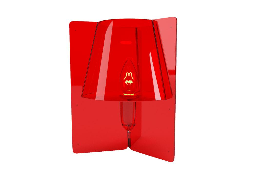 3D lamp tripli lucide