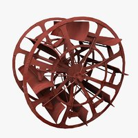 3D paddle wheel