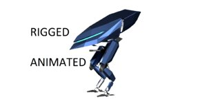 mech rigged model