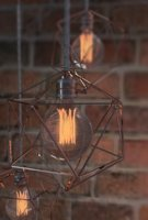 Geometric Edison Light Bulb