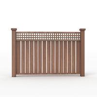 3D fence wood model