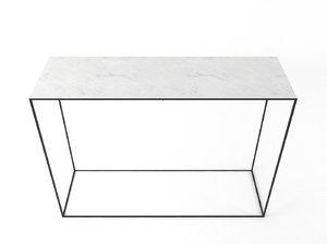 console marble maisons 3D model