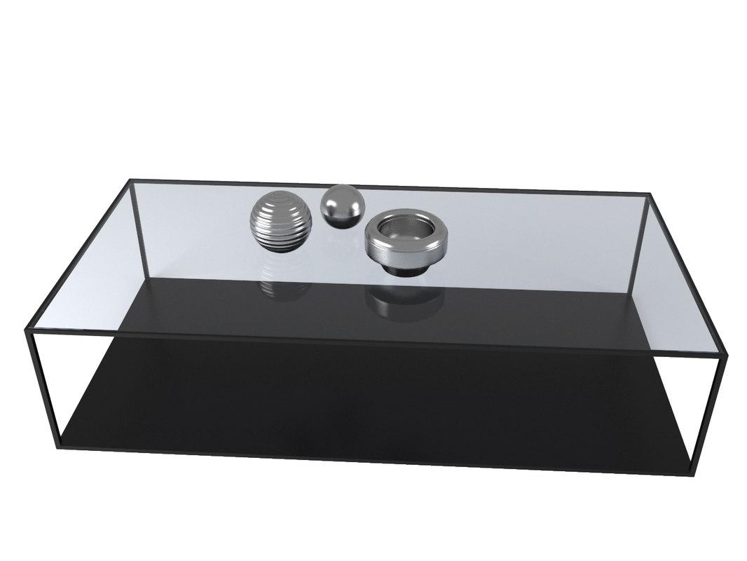 coffee table watson 3D model
