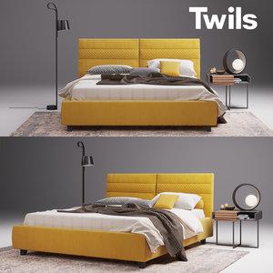 bed twils elliot model