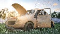 3D damage car