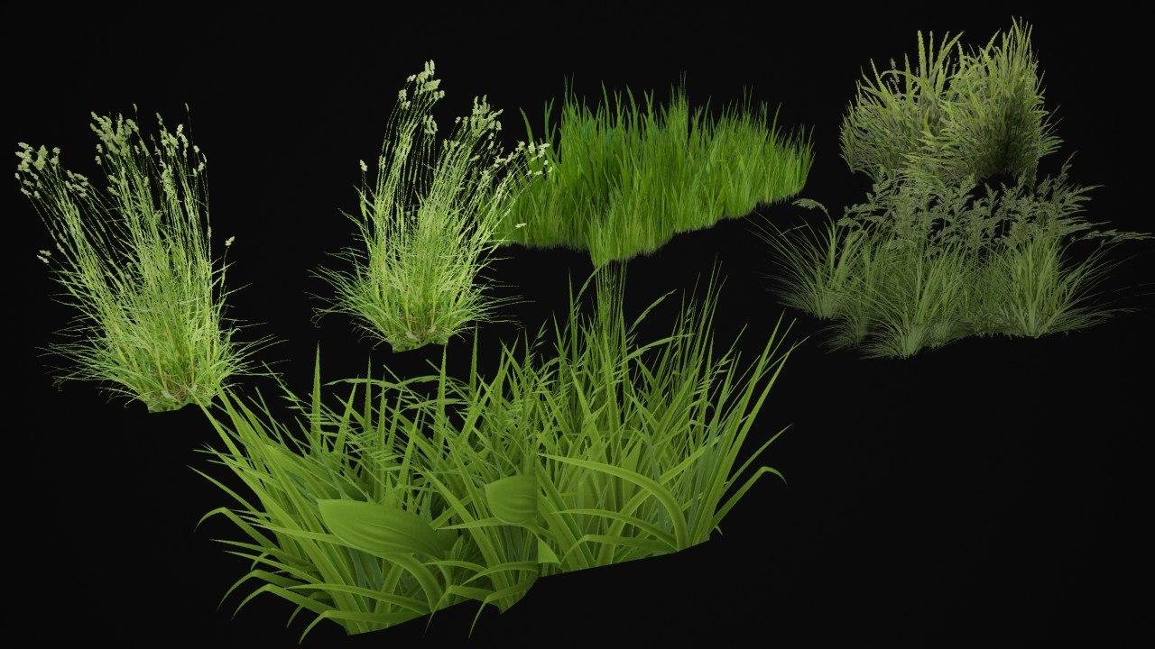 grass pack 3D