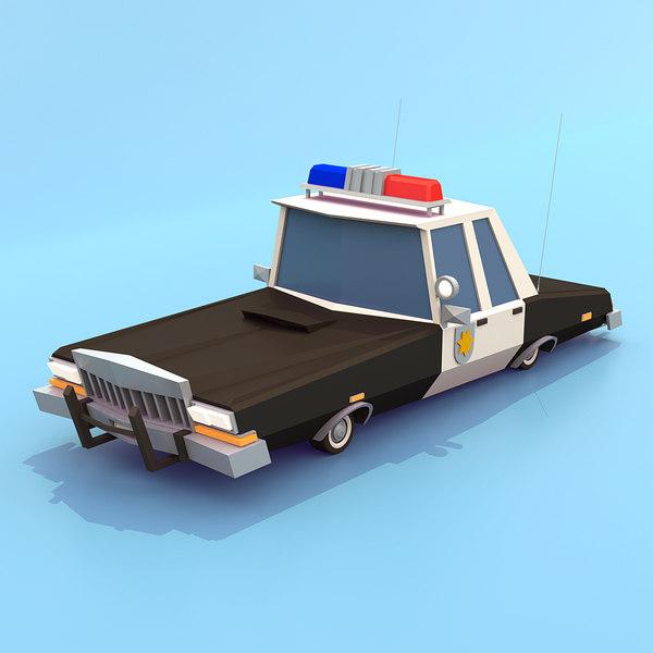 3D police interceptor