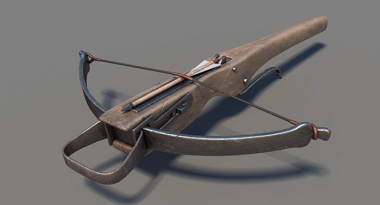 3D ready crossbow