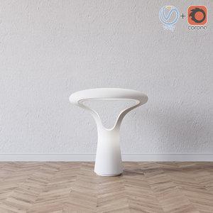 ferea lt table lamp 3D