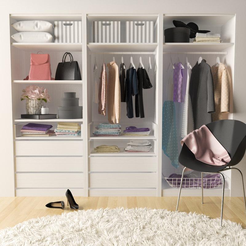 sweet wardrobe 3D