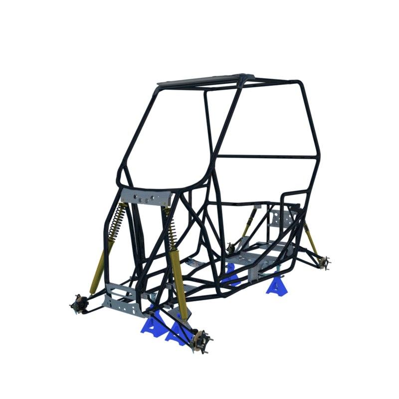 frame polaris rzr 900 model