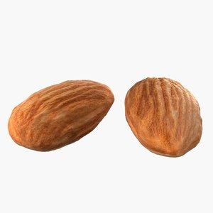 3D almond