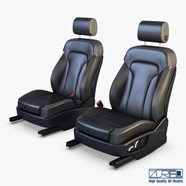 car seat 3D