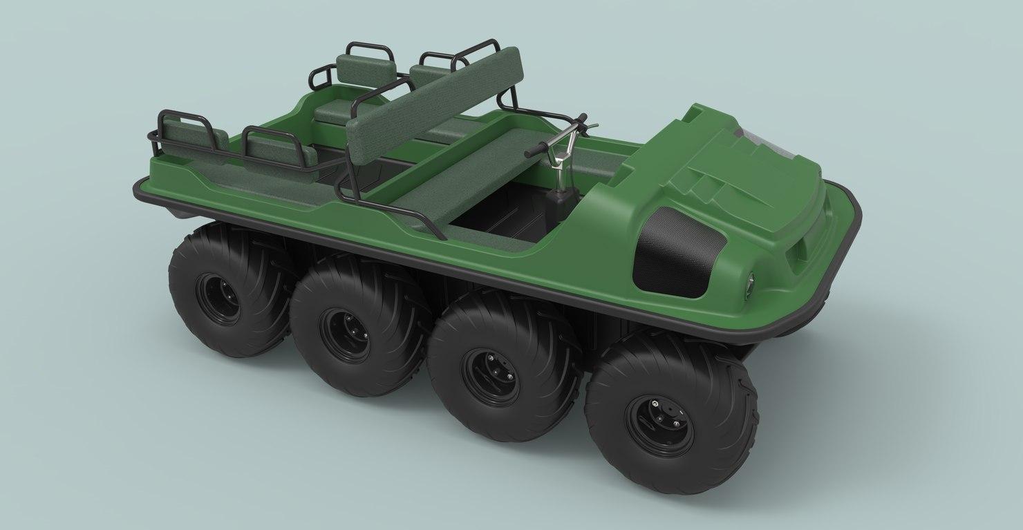 3D model argo vehicles