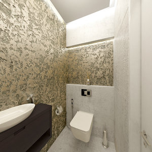 scene luxury restroom 3D