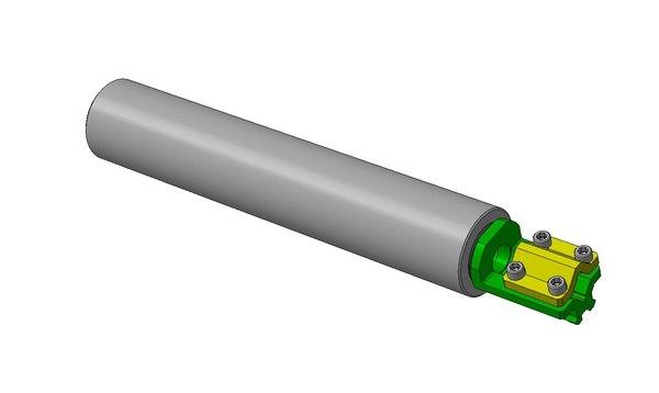 bracket muffler rail 3D model