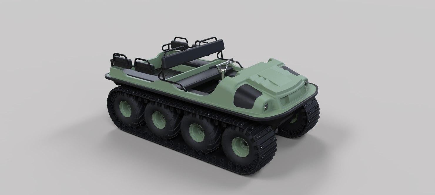 3D argo vehicles