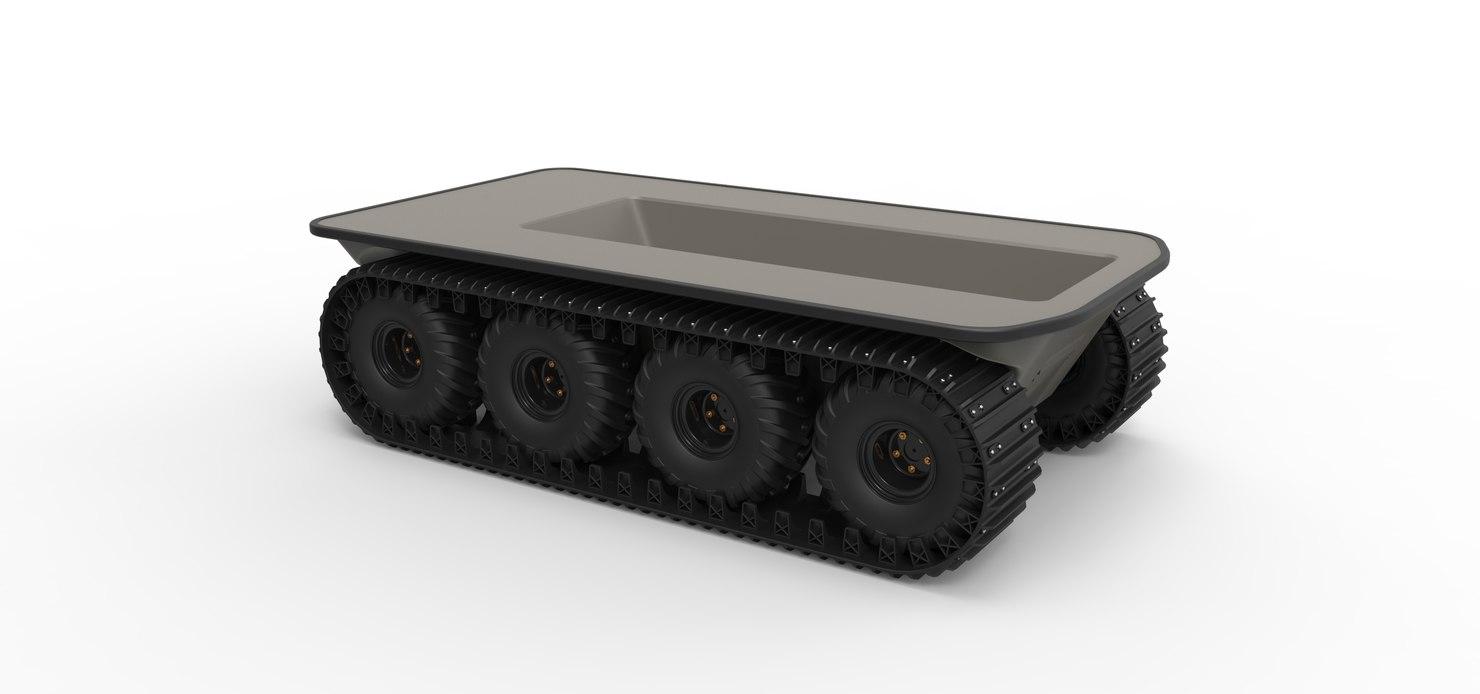 3D argo vehicles model
