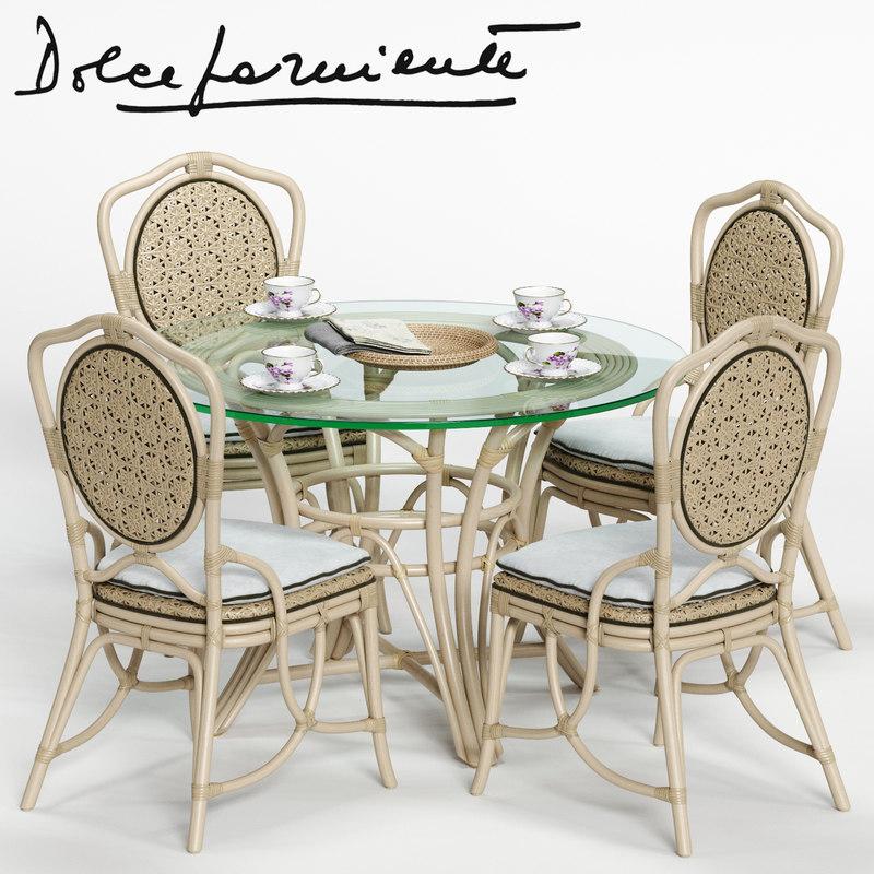 dolcefarniente daisy chair irene 3D model