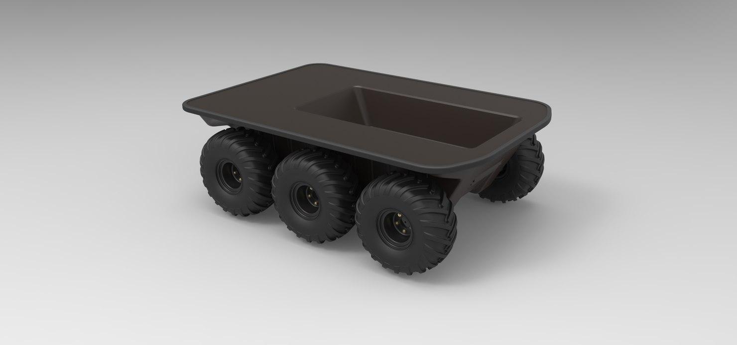 argo platform 6x6 model