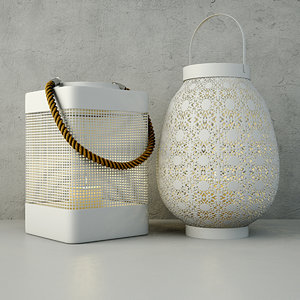 3D lanterns zara home
