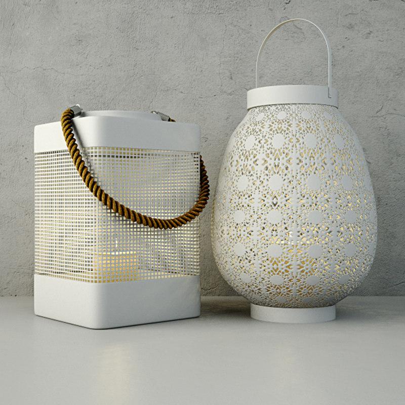3D lanterns zara home