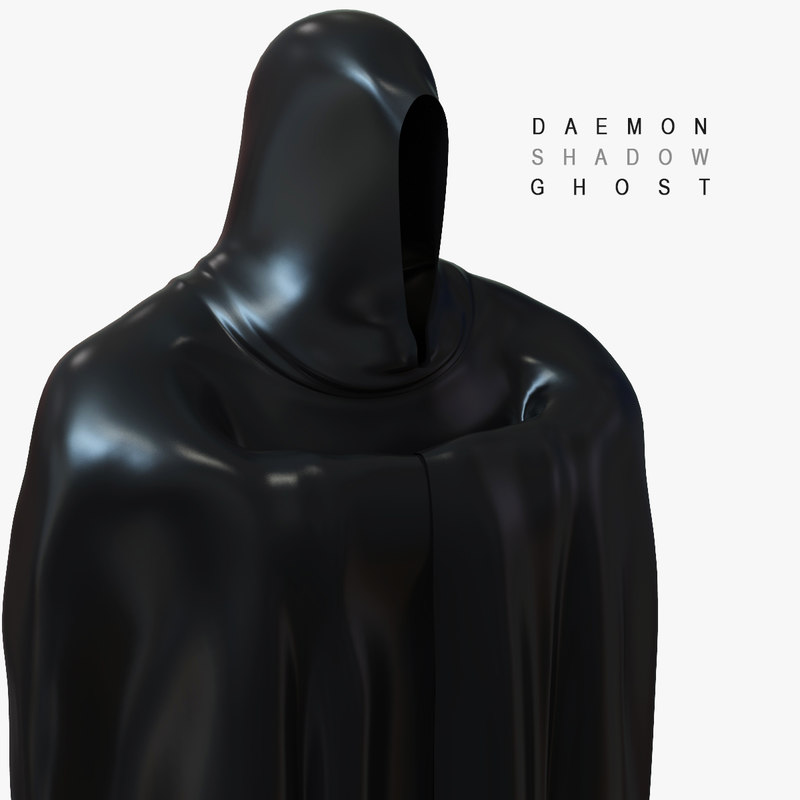 3D daemon shadow ghost