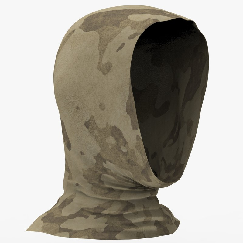 3D military balaclava v2