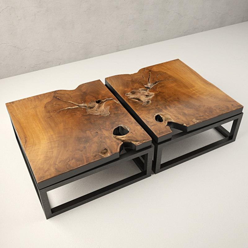 teak coffee table model