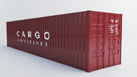shipping container 3D