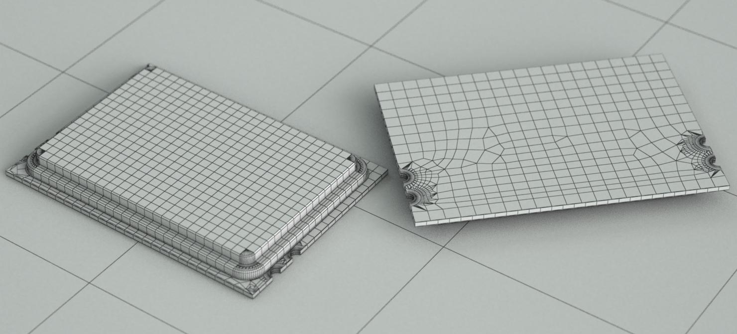 3D model amd 6172 12 cores