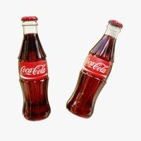 4k cola 3D model