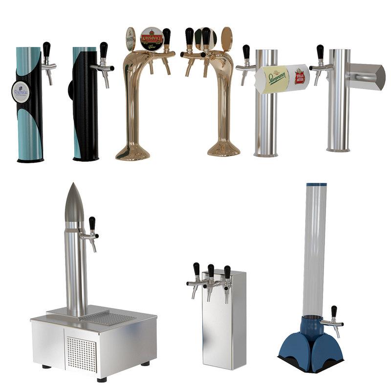 3D beer equipment