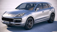 3D model porsche cayenne turbo