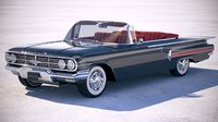 chevrolet impala convertible 3D model